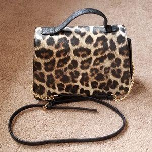 NWT Cato Leopard Print Crossbody Bag